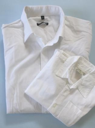 Upcycling Herrenhemd Kinderhemd Frau Fadegrad